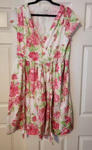 Isaac mizrahi for target floral dress